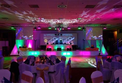 Holiday Inn Žilina ples Rotary klub